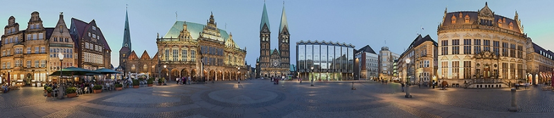 268I-250I-Marktplatz-Bremen-beleuchtet-Panoramakarte