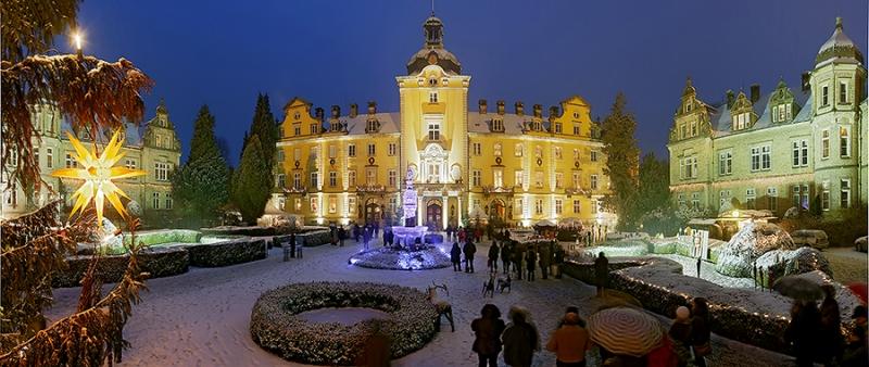 Schloss Bückeburg Weihnachtszauber Winter