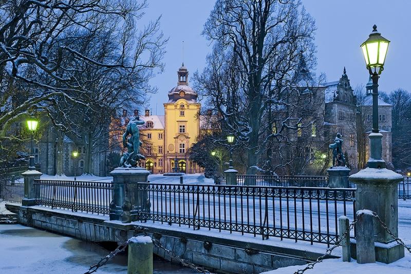 Schlossbrücke Bückeburg Winter