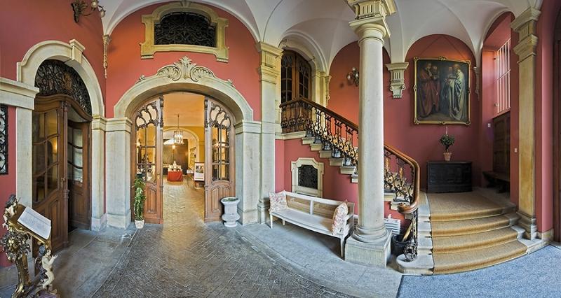 Innenaufnahme Schloss Bückeburg