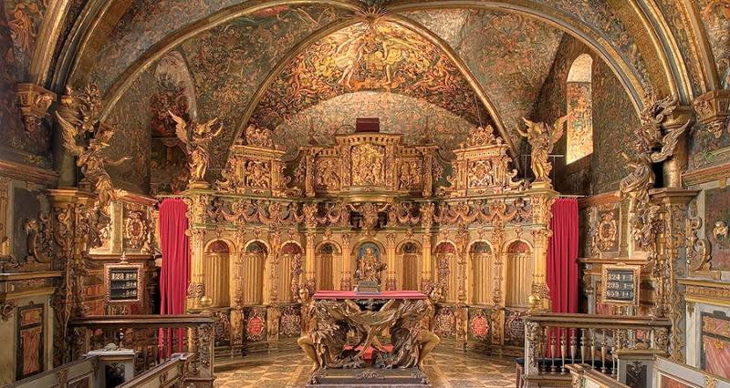 Schlosskapelle Bückeburg Innen