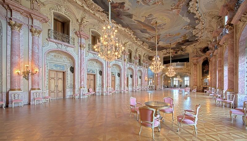 Festsaal im Schloss Bückeburg