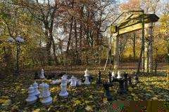 Schach im Schlosspark Bückeburg