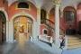3385C-3388C Eingang zum Schloss Bueckeburg Panorama Maxikarte