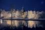 4522C-4531C Schloss Bueckeburg Winter Orange-Blue HDR-ND