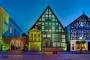 5276M-80M Heimatmuseum Bueckeburg beleuchtet HDR