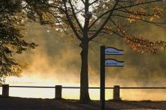 5963B Schlossgraben im Nebel