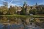 7071M Herbst Schloss Bueckeburg mit Elch
