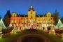 8536M-41M Schloss Bueckeburg Weihnachtszauber beleuchtet HDR