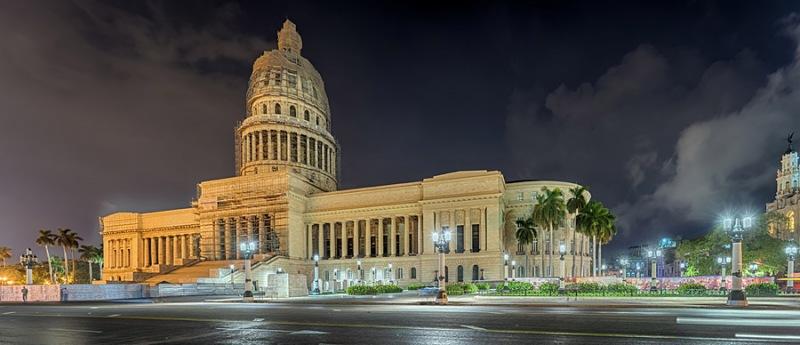 5601P-07P-Cuba-Havanna-Capitel-Panorama-Nacht-HDR