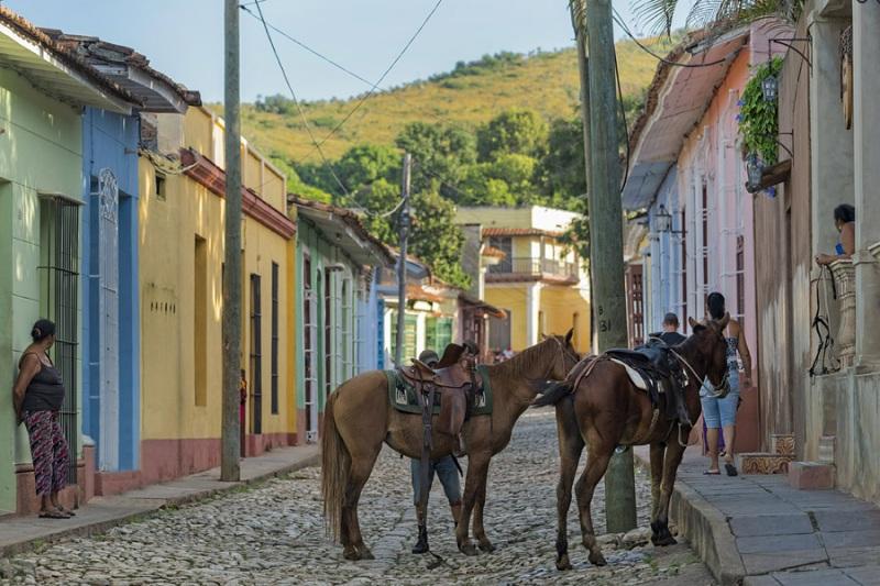 Trinidad Cuba Pferde
