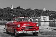 Cuba Havanna Hafen Oldtimer