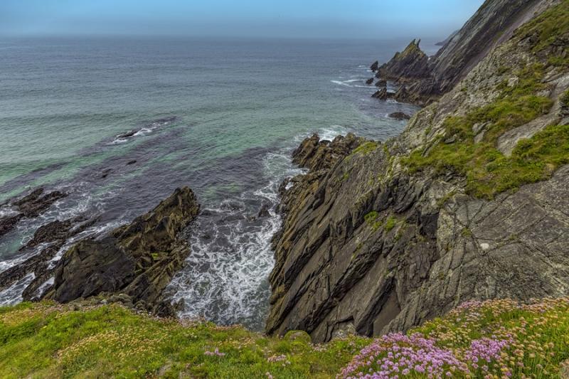 3422Sa Irland Westküste bei Dingle blue sky