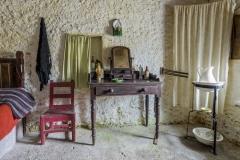 1935P historischer Raum Irland Museumsdorf Glencolmcille Folk Village