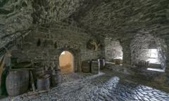 1993P Burgverliess Donegal Castle Irland