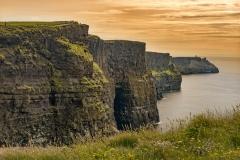 2097P Kliff Moher Abendstimmung Westküste Irland Abendstimmung