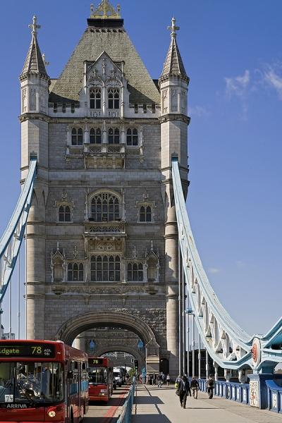 Towerbridge London mit Bus