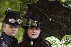 Gothic Paar in Leibzig