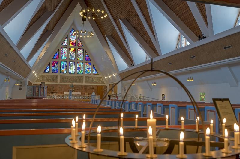 8377R-Kirche-Hammerfest-Norwegen-Innen