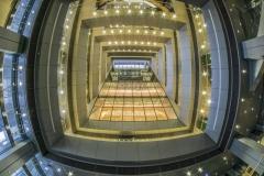 Riga Lettland Nationalbibliothek Innen
