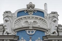 Riga Lettland Jugenstil