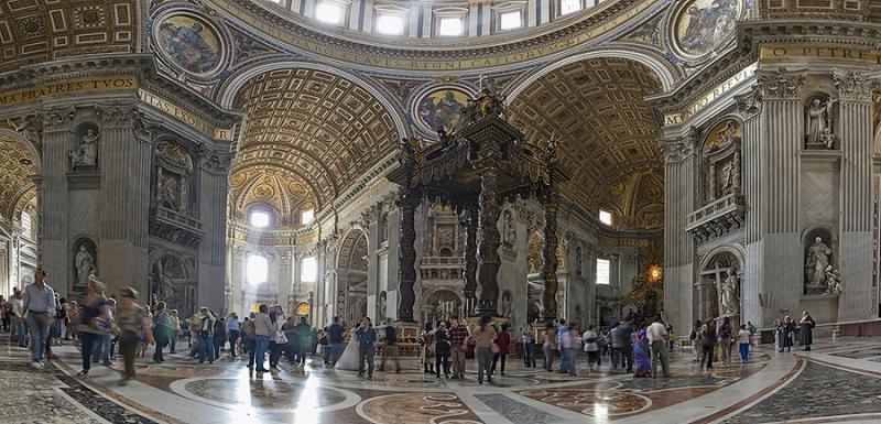 0251K-256K-Petersdom-Rom-Vatikan-Panorama