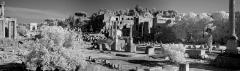2455B-57B-Forum-Romanum-SW-IR-Panorama