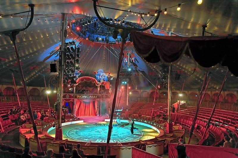 4756B-Manege-vor-der-Veranstaltung-Zirkus-Roncalli