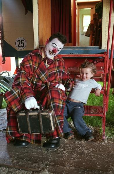 Clown-Vater-u.-Sohn