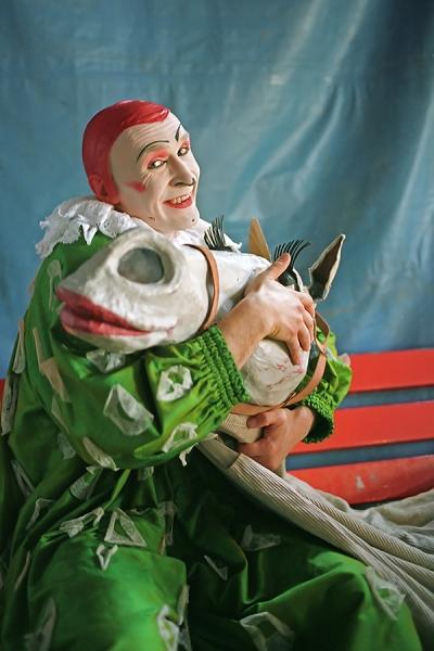 Clown-mit-Pferd-Serie-Bild-4