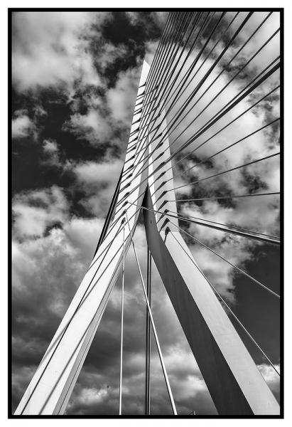 0651S-Rotterdam-Erasmusbrücke-SW