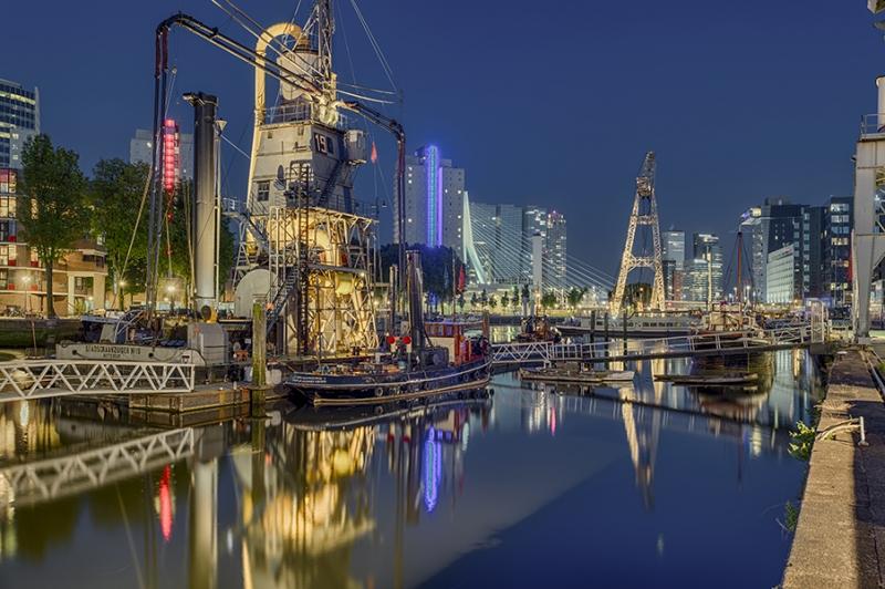 0852S-60S-Hafen-Nacht-Rotterdam