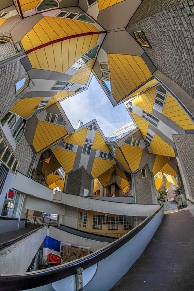 7683B-Kubus-Häuser-Rotterdam