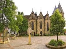 Kirchplatz vor dem Stift Obernkirchen