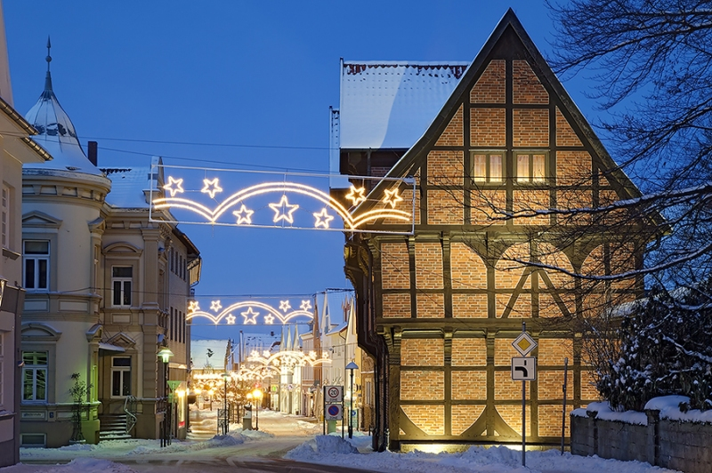 Amtspforte Stadthagen Winter