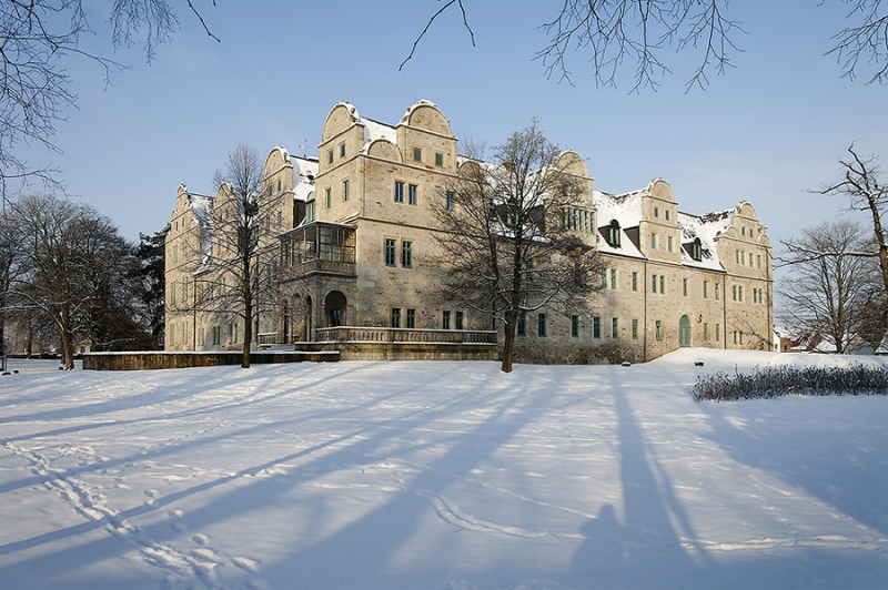 Schloss Stadthagen Winter