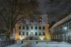 Landbergschen Hof Stadtbücherei Stadthagen Winter
