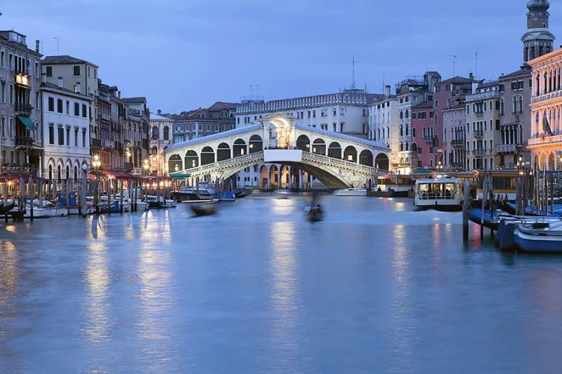 7850D-Rialto-Brücke-Canale-Grande-Abendstimmung