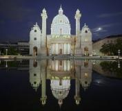 6730F-6738F-Karlskirche-Wien-beleuchtet-DRI-Panorama