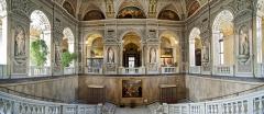 6941F-43F-Kunsthistorisches-Museum-Wien-Eingangsbereich-Panorama